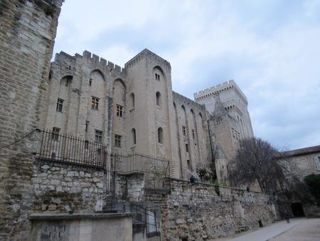 avignon: Palais des Papes, Avignon, France Editorial