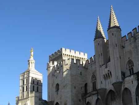 christendom: Palais des Papes, Avignon, France Stock Photo
