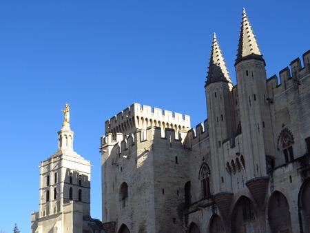 palais: Palais des Papes, Avignon, France Stock Photo