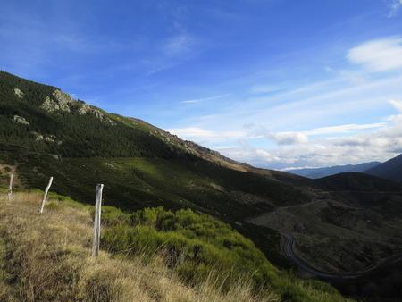 Panorama montagne ardéchoise