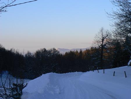 Scènes d'hiver dans les Alpes - scènes d'hiver dans les Alpes, France Banque d'images - 49265557