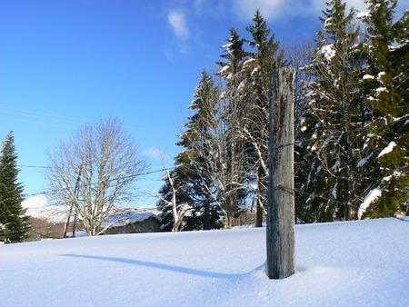 Scènes d'hiver dans les Alpes - scènes d'hiver dans les Alpes, France Banque d'images - 49265655