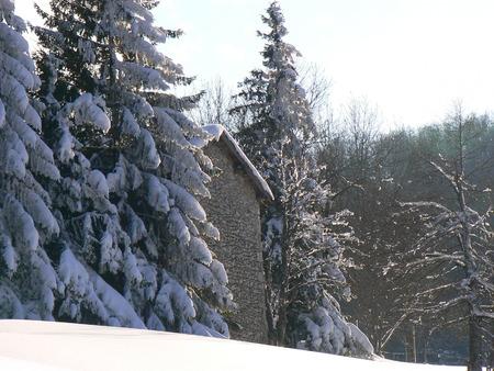 Scènes d'hiver dans les Alpes - scènes d'hiver dans les Alpes, France Banque d'images - 49265695