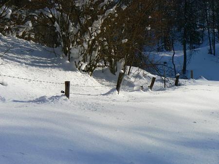 Scènes d'hiver dans les Alpes - scènes d'hiver dans les Alpes, France Banque d'images - 49265829