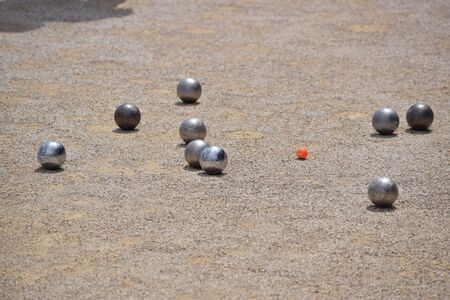 Petanque game - Lawn bowling