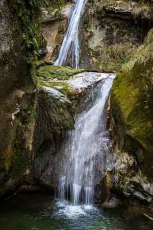 natures: Caglieron caves - Fregona - Italy Stock Photo