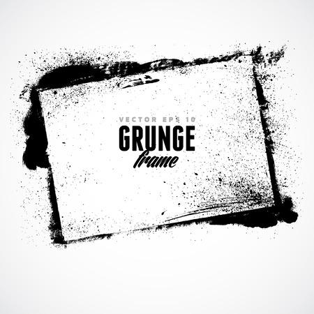 Grunge frame voor meerdere toepassingen.