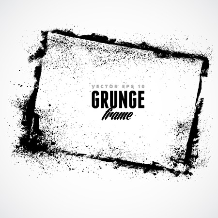 burnt edges: Grunge frame for multiple applications.