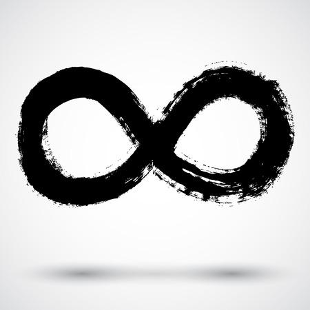 symbol vector: Infinity symbol. Vector.