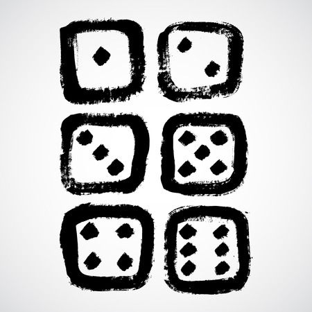 dices: Grunge dices