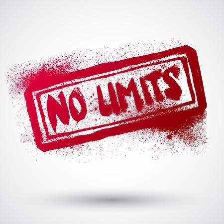 restrictions: No limit grunge rubber stamp,vector illustration