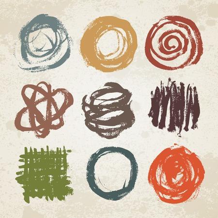 boring frame: Set of vector doodles. Sketchy frames. Back to school notebook ink drawing. Design elements