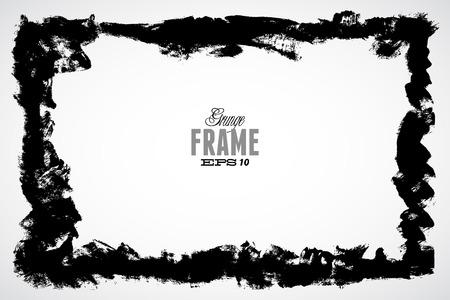 handled: Grunge frame for multiple applications.