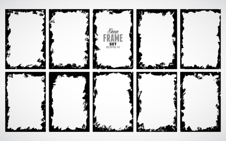 unclean: Grunge frame for multiple applications.