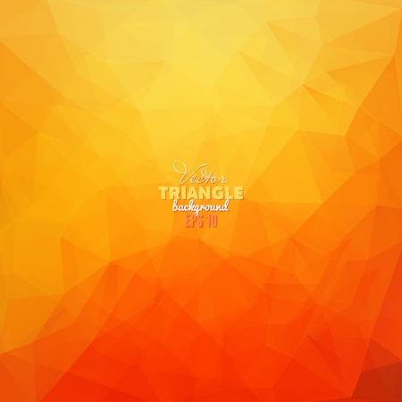 Hipster achtergrond gemaakt van driehoeken. Retro-label design. Vierkant samenstelling met geometrische vormen, kleur stroom effect. Stock Illustratie