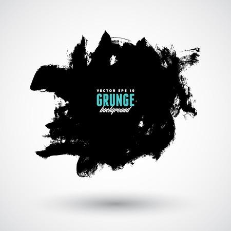 grunge banner: Grunge splash banner