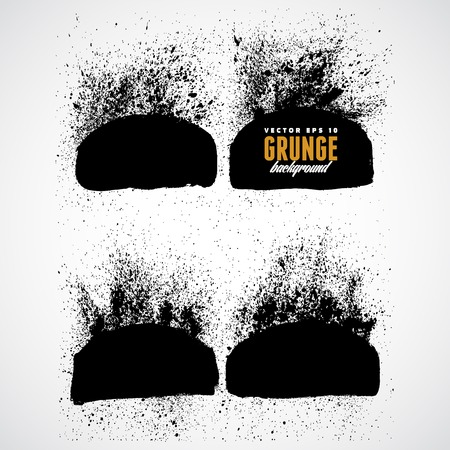 Explosion dirt in grunge style Vector