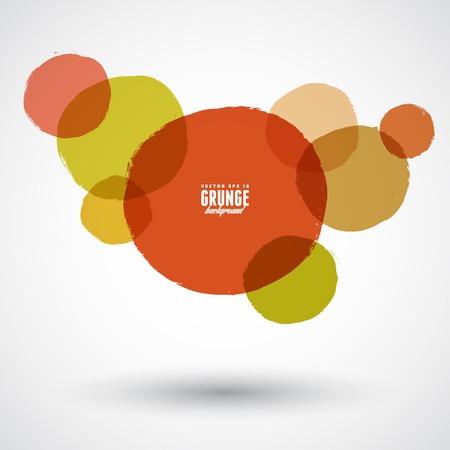 Beautiful grunge design elements. Vector illustration