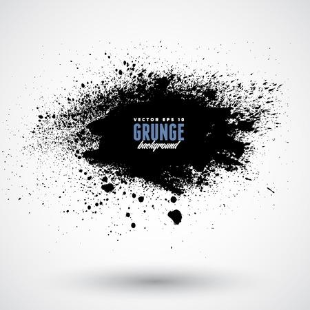 Grunge splash banner