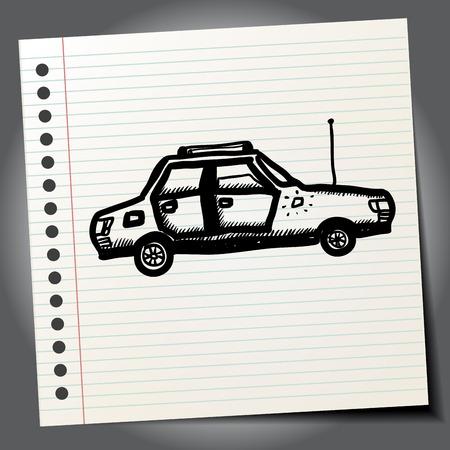funny car: Funny car doodle