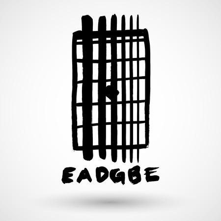 frets: Grunge guitar frets