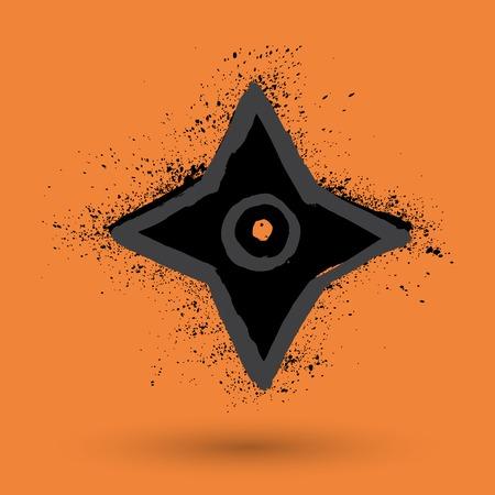 shuriken: Shuriken  throwing star