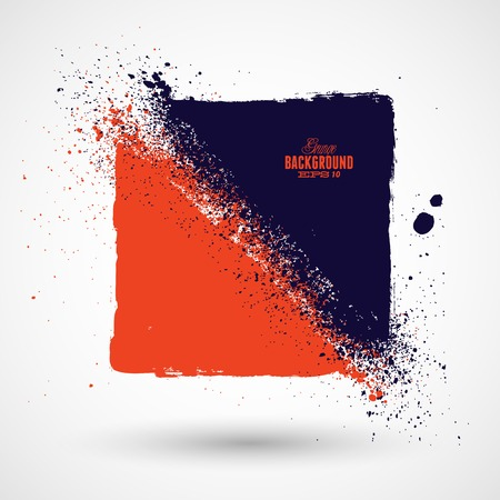 business backgound: Grunge colorful background Illustration