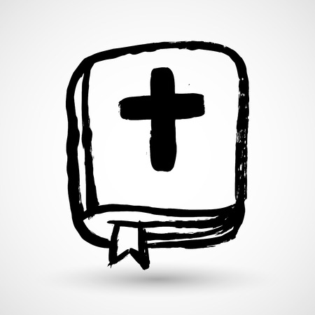 bible: Bible. Grunge style