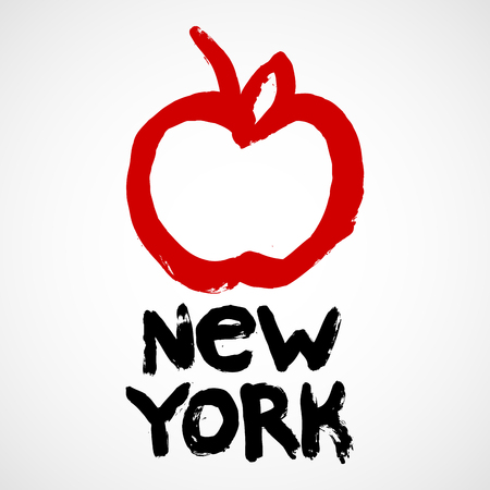 New York City sticker - Big Apple