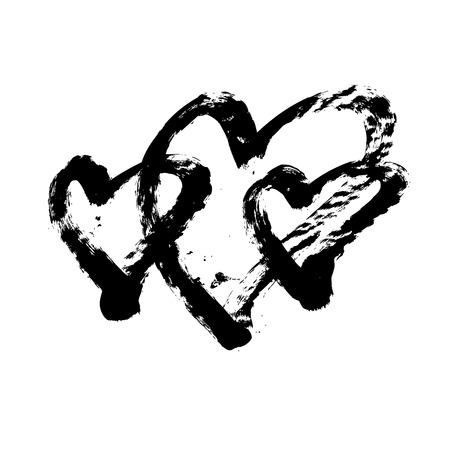 love shape: Heart shape design for love symbols.