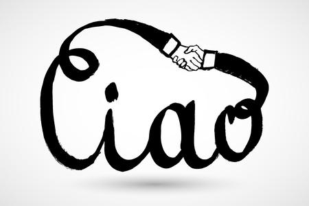 Ciao italian greeting hand written translation hello royalty italian greeting hand written translation m4hsunfo