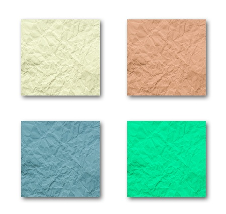 quadruple: Quadruple Crumpled Paper