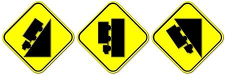 Beware of steep slopes photo