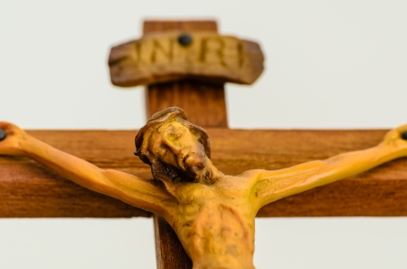 Statue  of Jesus on  the Cross photo