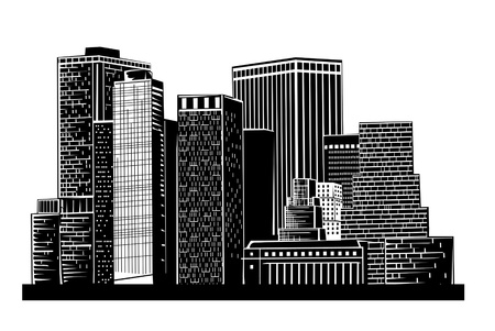 illustration of a city Stock Vector - 10493104