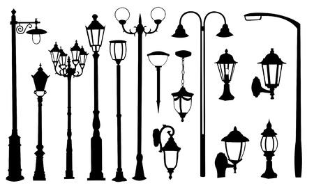straat licht collage