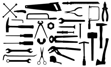 tools set  Stock Vector - 12375839