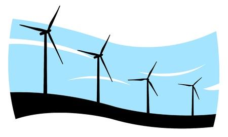 wind turbines: wind turbines concept