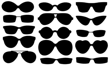 corrective lenses: sun glasses set