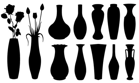 vase set Stock Vector - 16451174