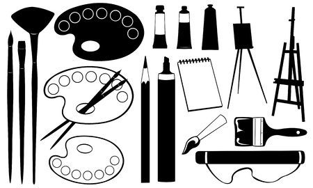 painting tools Stock Vector - 18668981