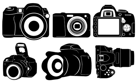 set of cameras Stock Vector - 19601154