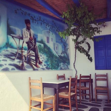 canvas: A corner of Mykonos spring