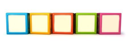 bloques: Bloques de construcci�n en blanco