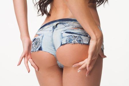 Sexy ass jean shorts
