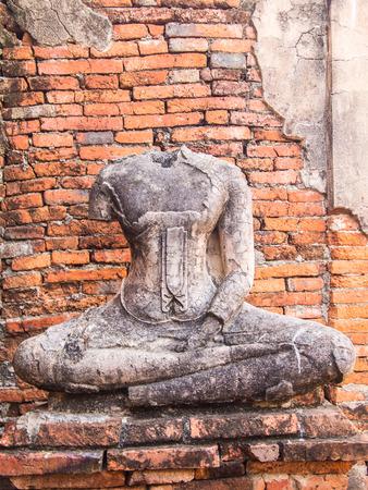 budda: Budda statue in Ayutthaya Thailand