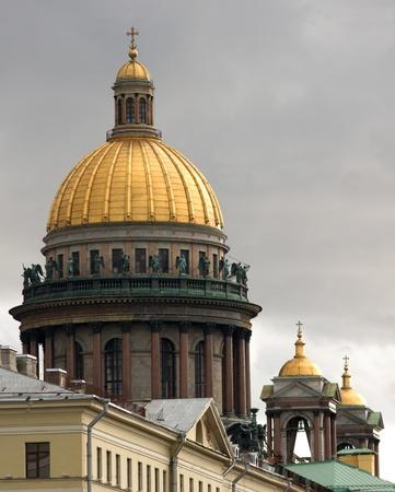 cupolas of st.isaac