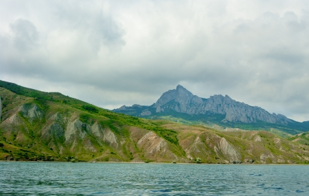 National reserve Karadag,Crimea