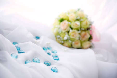 marriageable: Bridal bouquet Stock Photo
