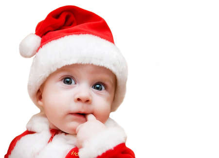 Christmas boy Standard-Bild